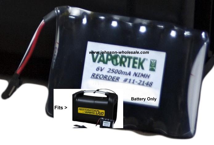 Vaportek 11-2148 Restorator DUO Extra Battery Pack