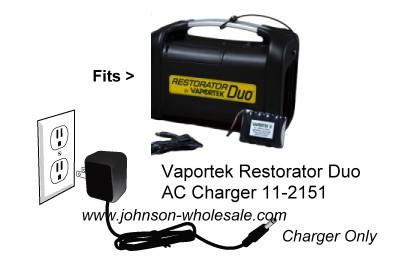 Vaportek 11-2151 Restorator DUO Extra A/C Charger Only