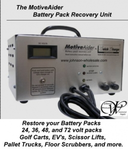 Quick Charge MotiveAider Battery Pack Recovery Unit