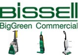 Bissell BigGreen Commercial Vacuums