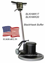 hawk floor machine buffer: johnson wholesale