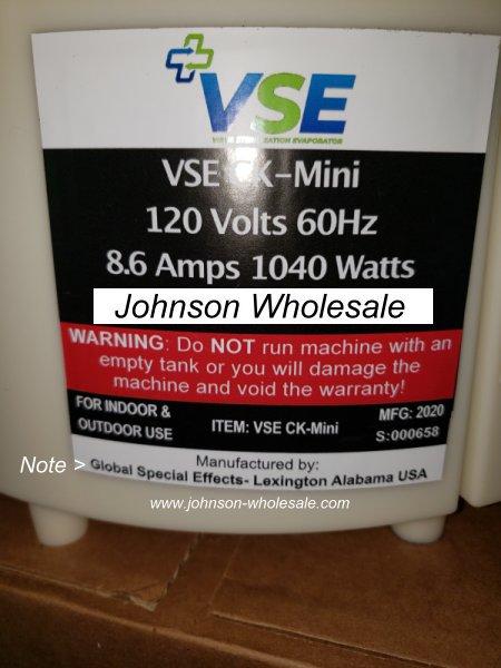 VSE CK-Mini Electrostatic Sprayer