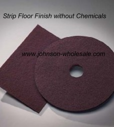 Norton 65892 Maroon Enviro Pads 14x20 Rectuangular 10pk Chemical Free Stripping