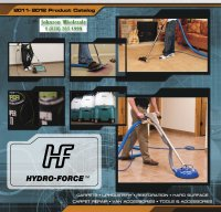 Hydro Force Carpet Extractors