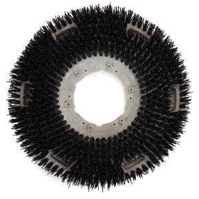 Carlisle Nylo Grit Flopac Black Floor Stripping Brush 20 inch 362000G50-5N
