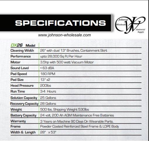 dx26 specks