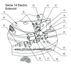 Betco Genie 14 Ce Hd Electric Solenoid Valve 110v E8830300
