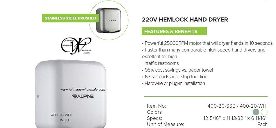 220v Hemlock