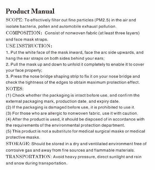 mask manual