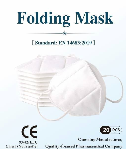Mask KN95 Folding 20 per pack