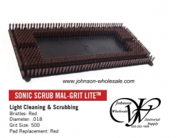 Malish 703020 14 x 20 Sonic Scrub Mal-Grit Scrub